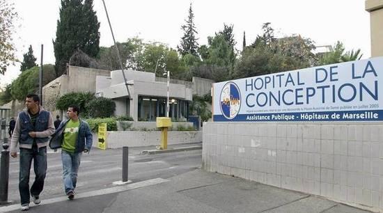 gestion de crise hôpital Marseille